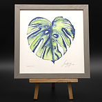 MONSTERA LEAF EDITION LIMITEE 24X24 CADR