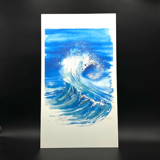 LA VAGUE EDITION LIMITEE 34X60 BRUTE 33€