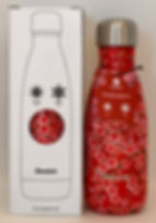 BOUTEILLE ISOTHERME QWETCH 260ML FLOWERS