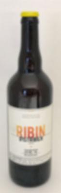 Bière blonde RIBIN 75 cl