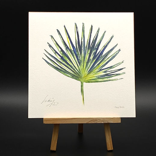 PALM LEAF EDITION LIMITEE 24X24 BRUTE 17