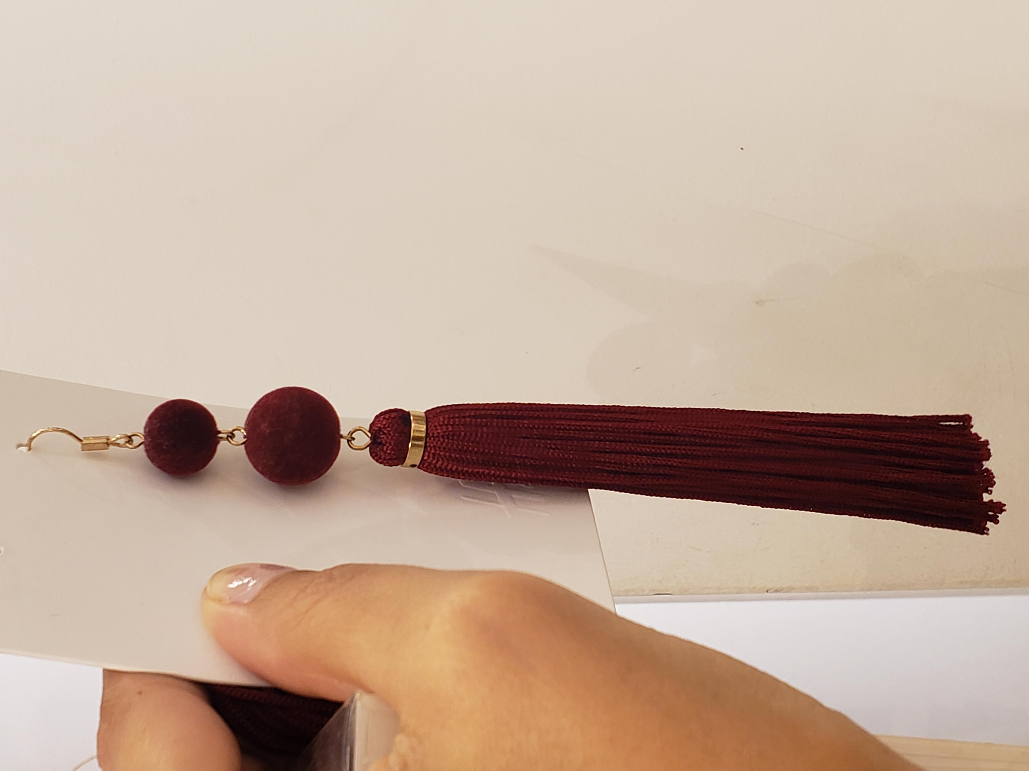 H&M earrings for the geisha