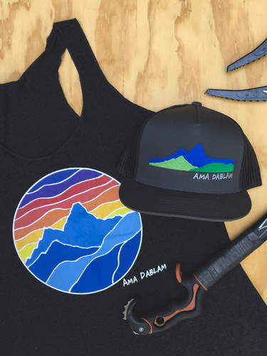Ama Dablam Sunset Tank Top