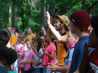 Camp Rockfish Uses Cumberland Community Foundation, INC. Grant To Send Children to Camp in 2021