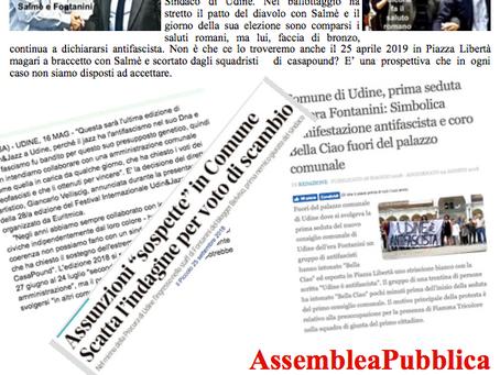 Assemblea Pubblica Antifascista e Antirazzista Mercoledì 3 ottobre 2018 ore 20.30