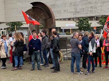Report, foto, video e link del presidio antifascista contro casapound dell'11 maggio a Udine