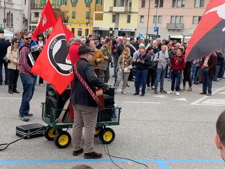 Report 25 aprile 2019 a Udine