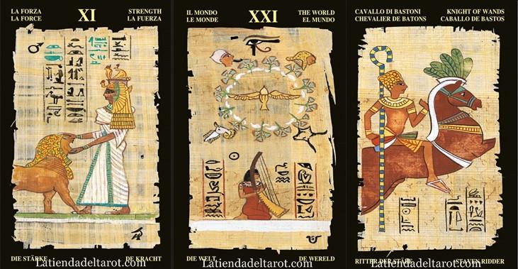 Resultado de imagen de la fuerza tarot egipcio
