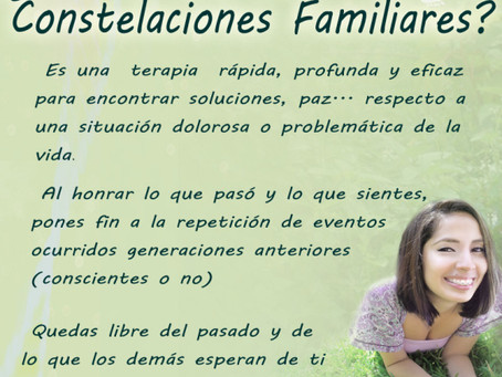 Herramientas para biodescodificación: Constelaciones familiares I