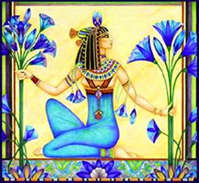 Resultado de imagen de egipto forma de loto