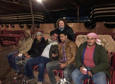 Wadi Rum.. de hesicastas a jedais, pasando por beduinos.