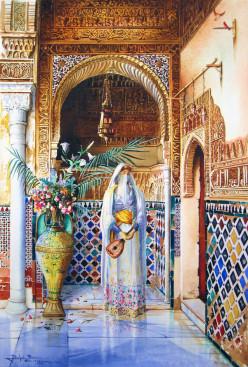 Resultado de imagen de alhambra princesa