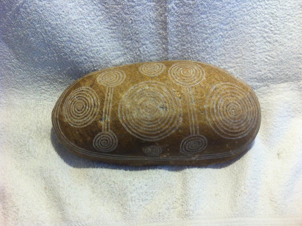 Resultado de imagen de tjuringas aborigenes
