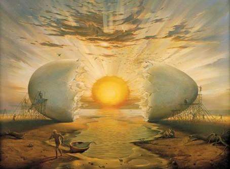 El lenguaje de las Aves: El Huevo Cósmico.