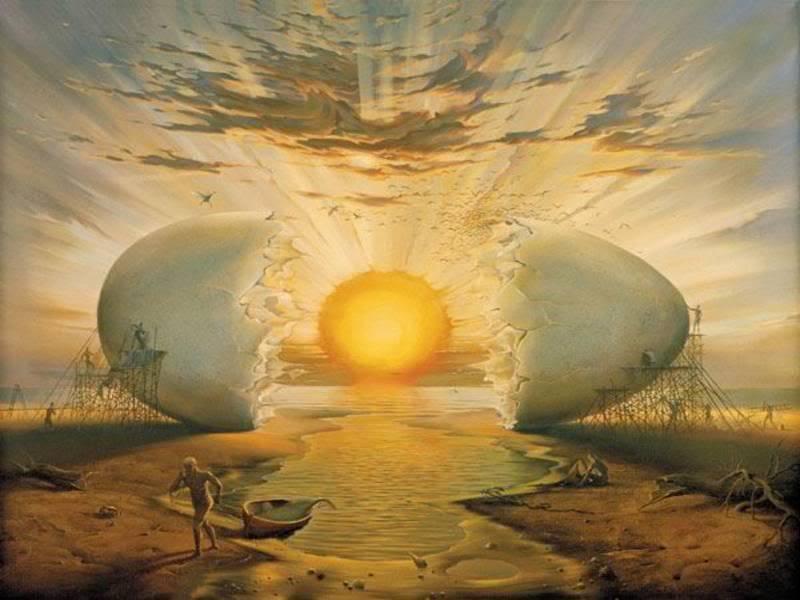 Resultado de imagen de el huevo cosmico