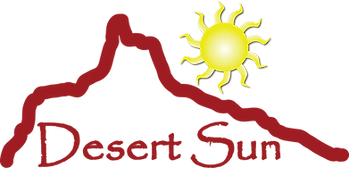 Desert Sun Heating Cooling Logo