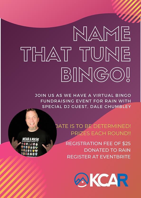 Name that Tune Bingo - July 30, 2020 (1)