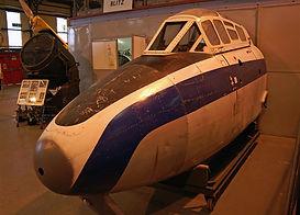 WA662's cockpit pre restoration