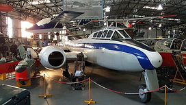 WA662 on Display in the Main Hangar