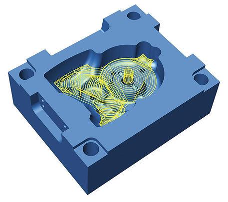 mecanizado molde inyección