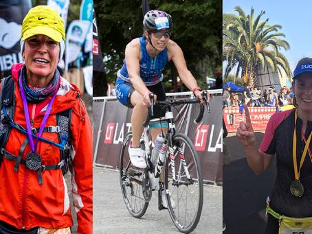 Tres chicas Bucle participarán en tres diferentes disciplinas deportivas este fin de semana: Climbin
