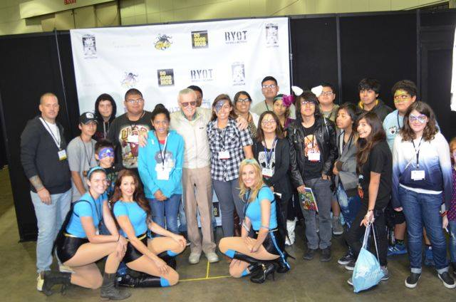 Stan Lee Do Good Mob Partnership