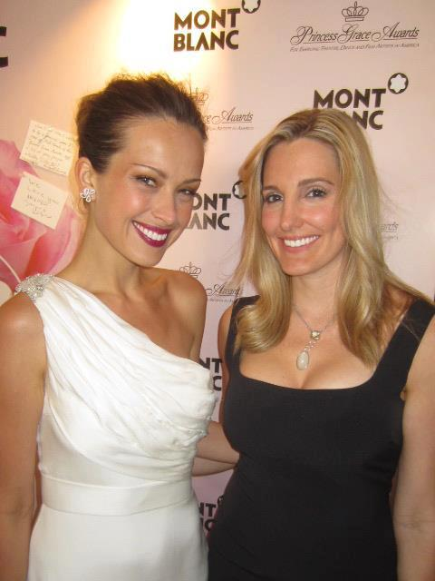Supermodel Petra Nemcova and Crystal