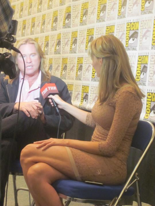 Crystal Interviews Actor Val Kilmer