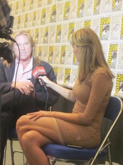 Crystal Interviews Actor Val Kilmer