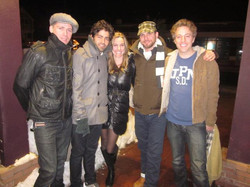 Crystal With Adrien Grenier's Band