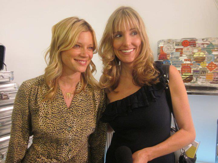 Actress Amy Smart And Crystal