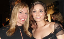 Crystal And Actress Emmy Rossum
