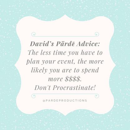 David's Pärdē Advice #15
