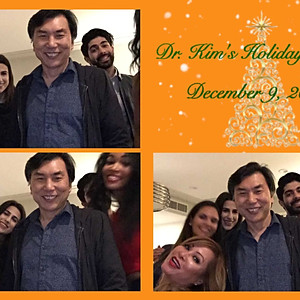 Dr. Kim's Holiday Party