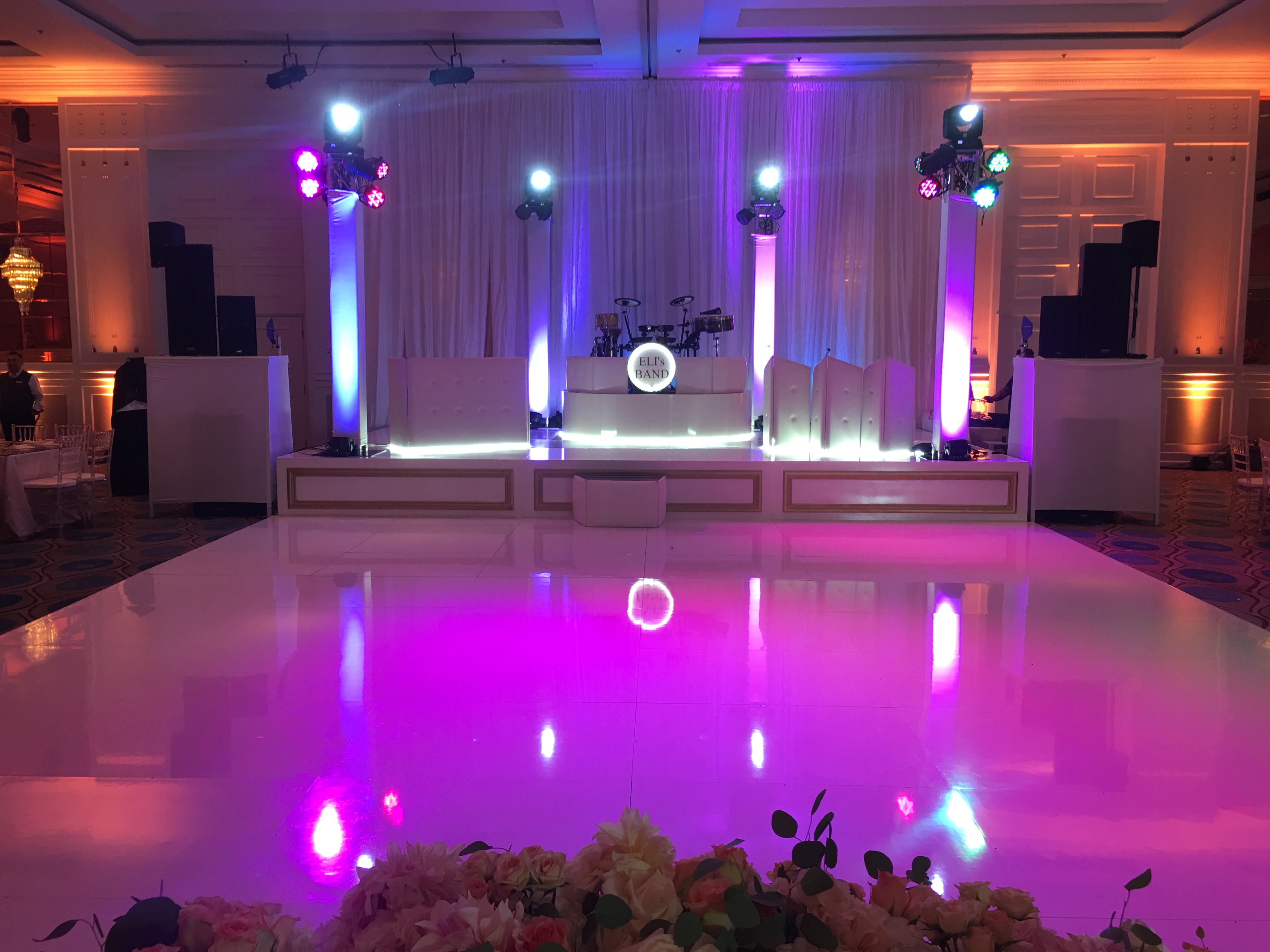 Wedding Pictures   Event Lighting Pictures   Party Lighting LA Area