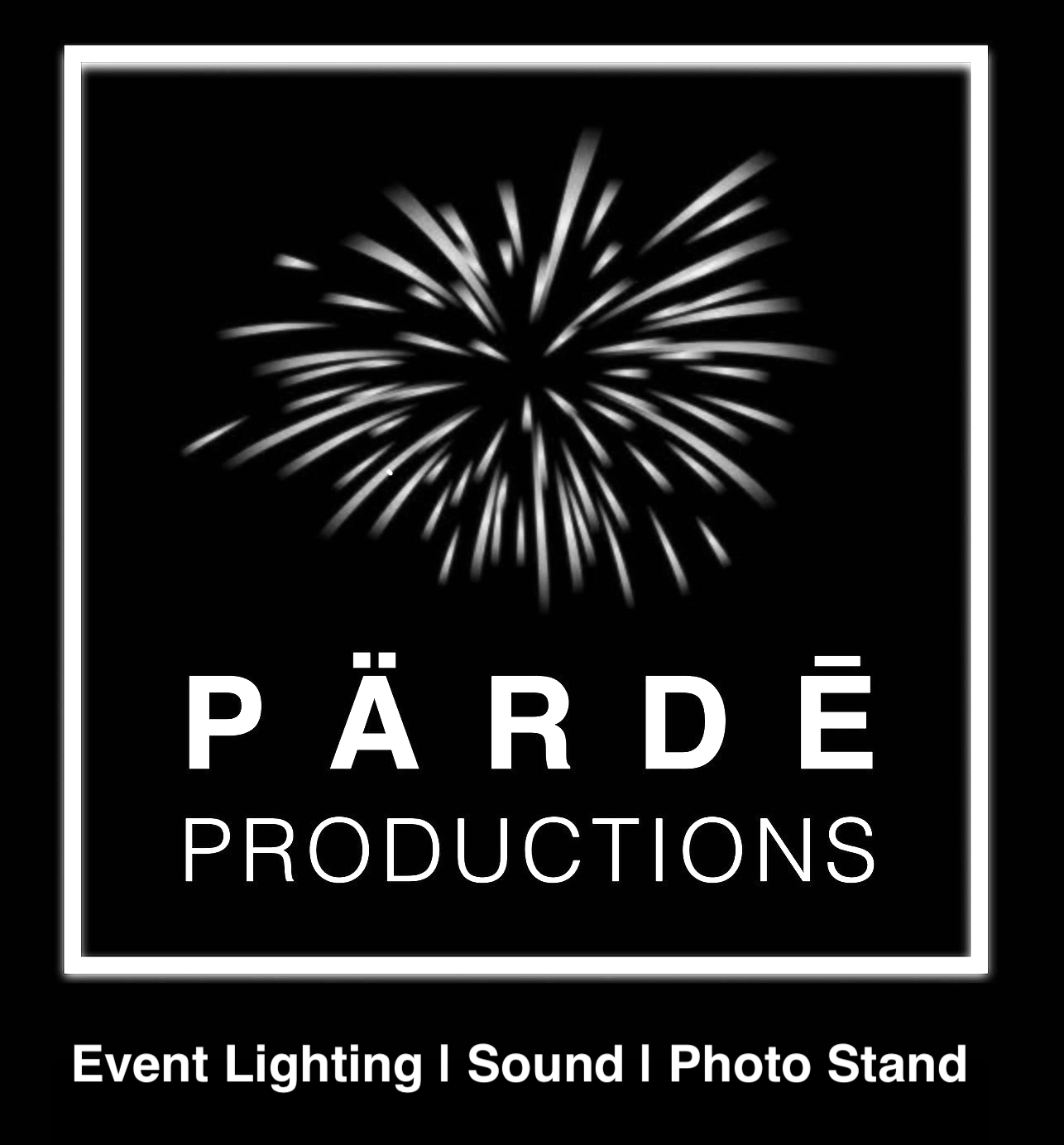 pärdē productions event lighting sound photo stands photo booths