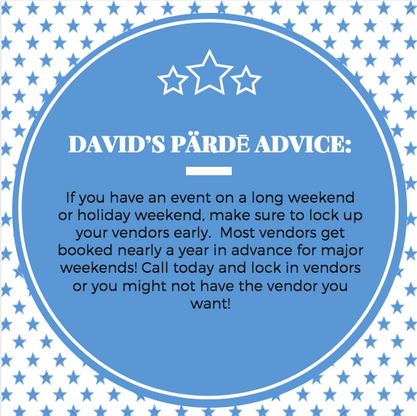 David's Pärdē Advice #16