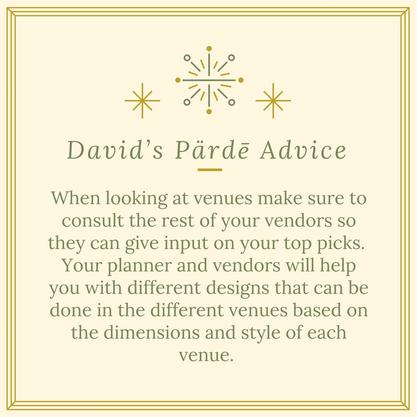 David's Pärdē Advice #19