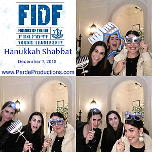 FIDF Hanukkah Shabat