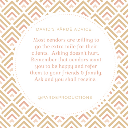 David's Pärdē Advice #13