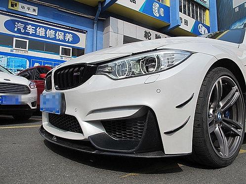 BMW F80/F82/F83 M3 M4 RZP STYLE CANARDS-4PCS