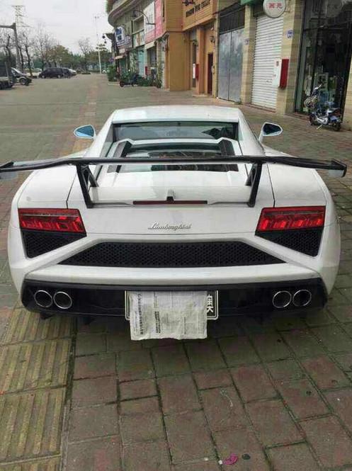 Lamborghini Gallardo Sv Style Gt Wing No Need To Remove Original
