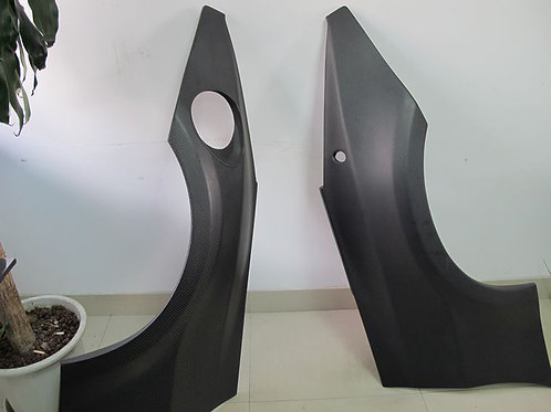 NISSAN 350Z DO-LUCK STYLE REAR FENDER FLARE-DRY CARBON-NEW!