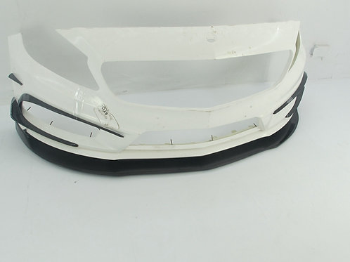 MB W176 A-CLASS A250 STYLE FRONT BUMPER W/O CANARDS/LIP/AIR DUCT