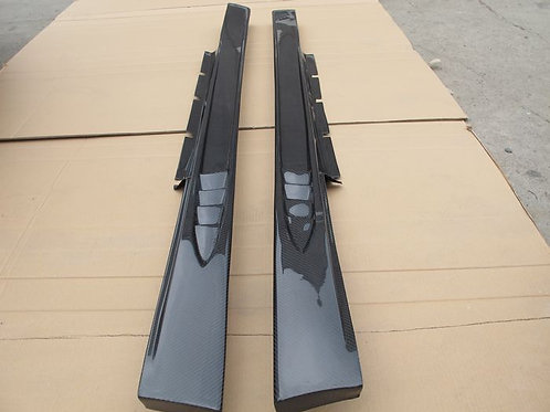 08-16' GTR R35 WI STYLE SIDE SKIRTS