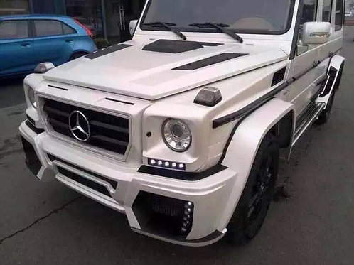 MB W463 G-CLASS WALD BLACK BISON STYLE HOOD