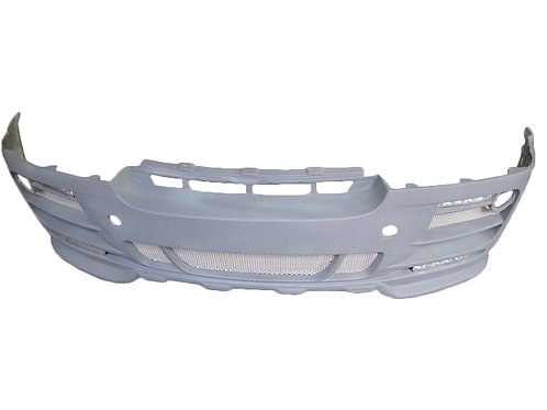 BMW E71 X6 HAMANN NON-WIDE STYLE FRONT BUMPER W LED LIGHTS*4