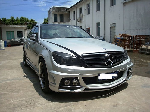 MB 08-10'W204 C-CLASS WALD STYLE FRONT BUMPER (4 FOG LAMP NOT INCLUDED)
