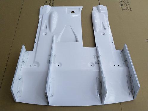 NISSAN GTR R35 LB TYPE-2 STYLE REAR DIFFUSER KIT