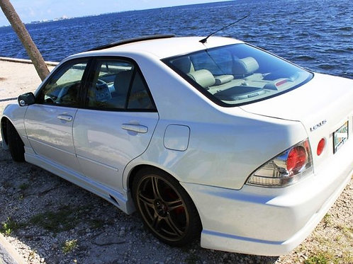 LEXUS IS200 C-WEST STYLE SIDE SKIRTS